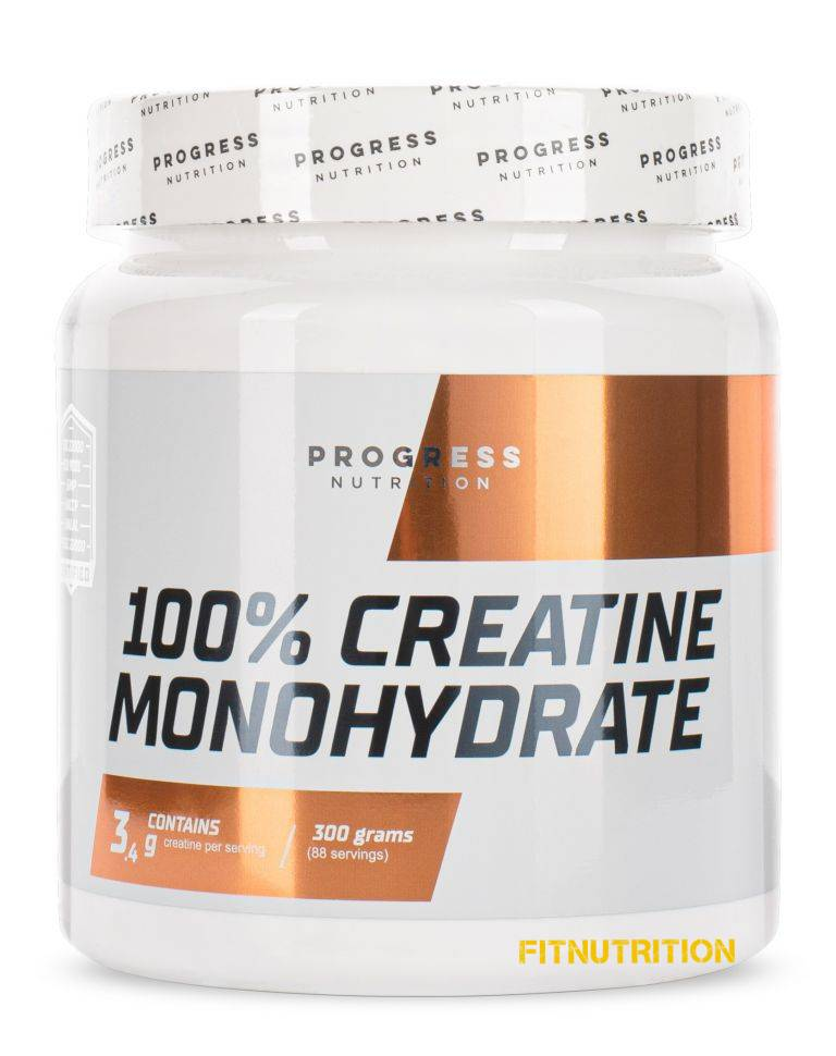 Creatine Monohydrate Progress Nutrition 300 г