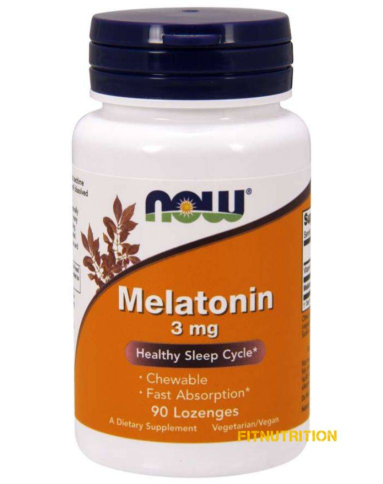 Melatonin 3 mg NOW 90 табл