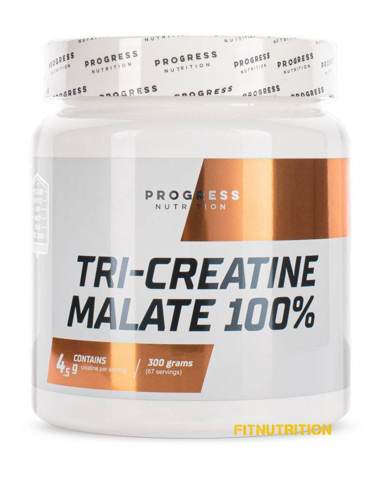 Tri-Creatine Malate Progress Nutrition 300 г